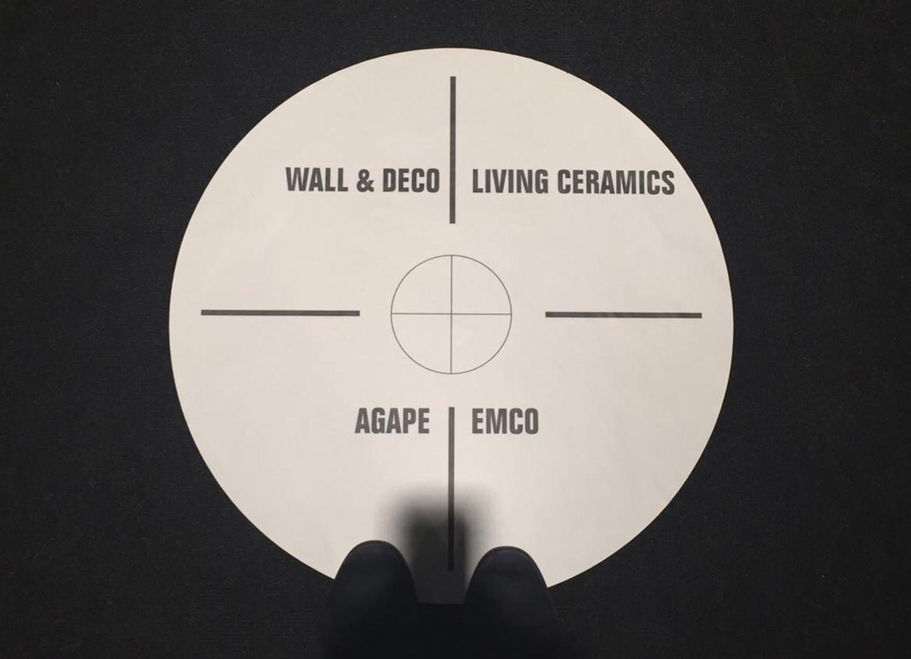 Living Ceramics está presente en la primera edición que A@W organiza en España.
