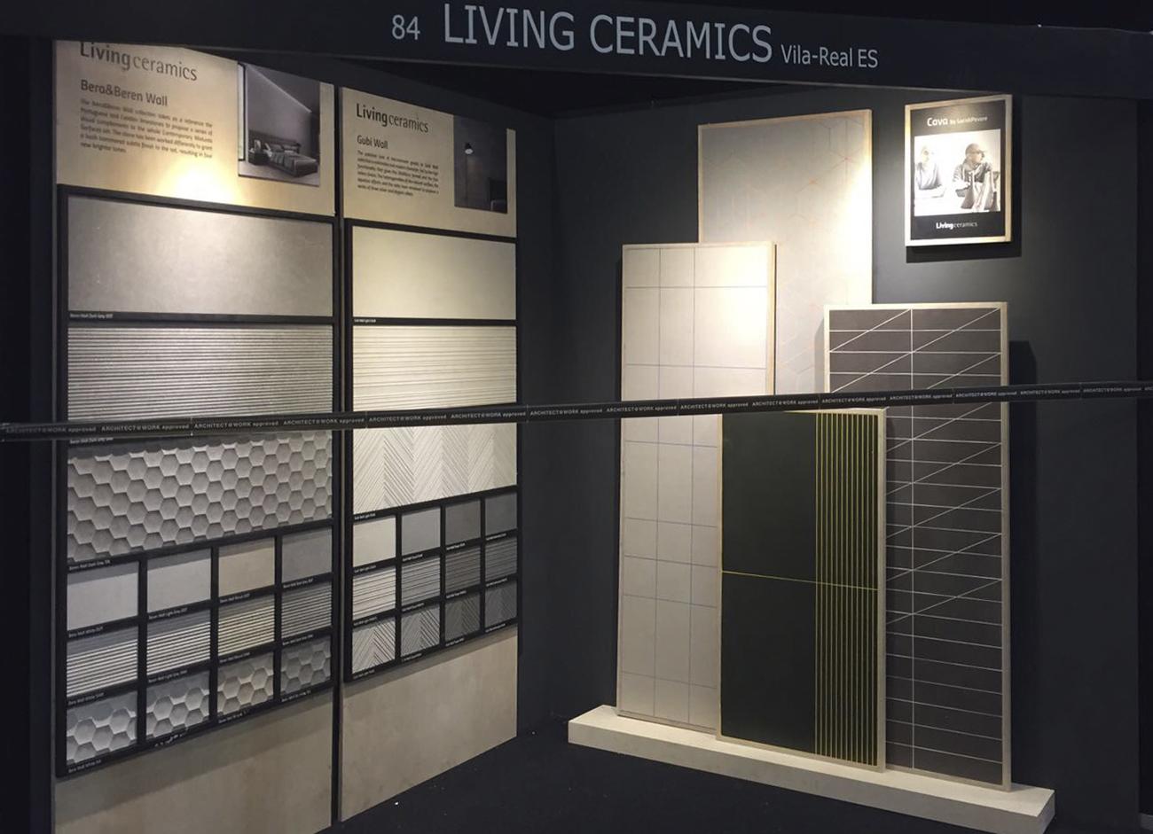 Living Ceramics participa en la primera edición de Architect at Work Estocolmo