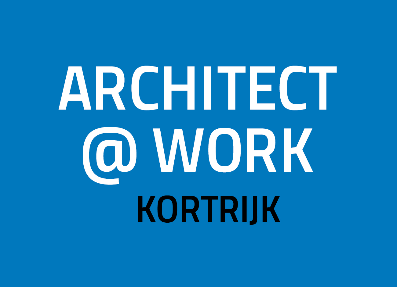 The Belgian city of Kortrijk hosts a new edition of A@W