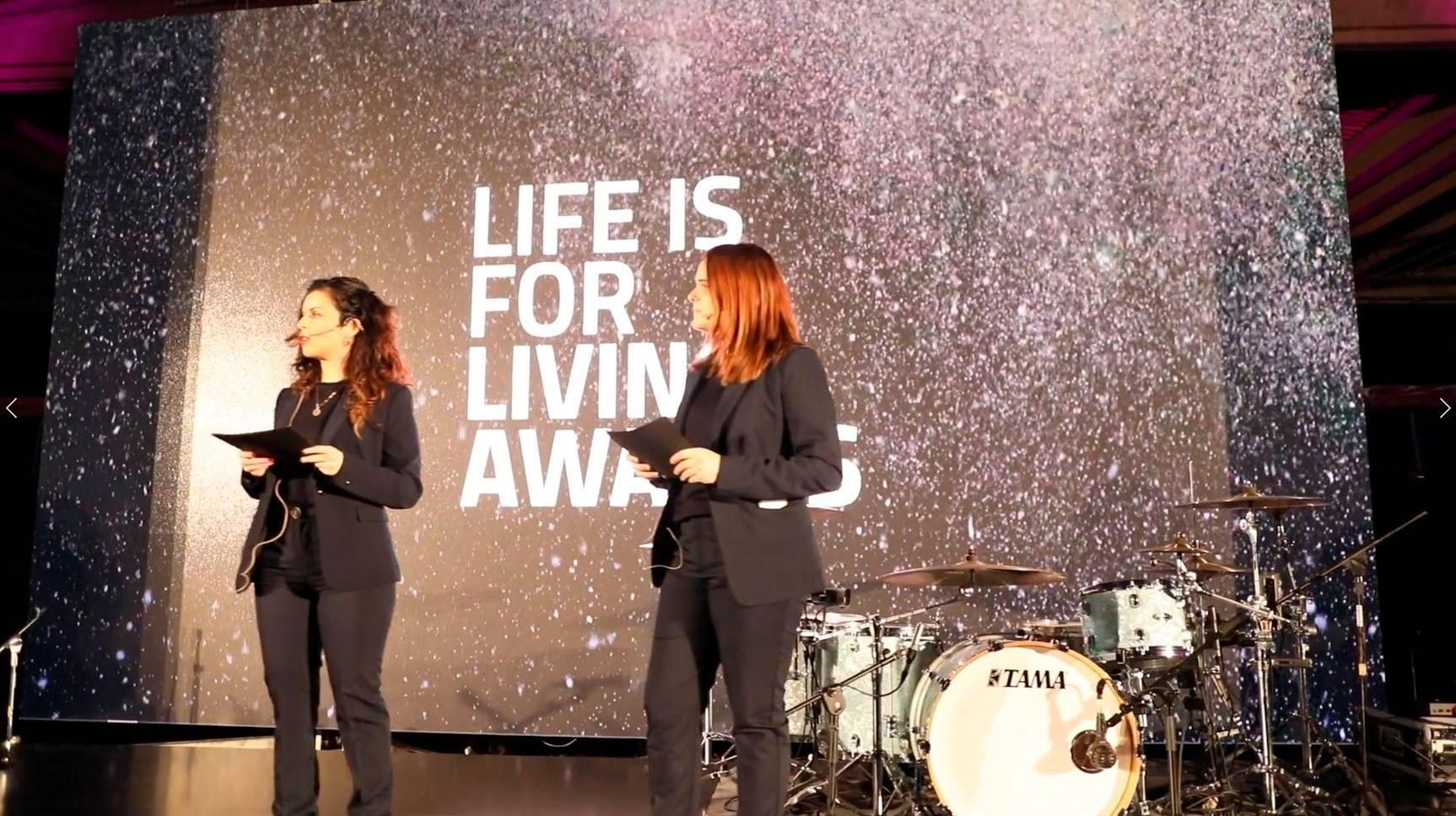 Life is For Living Awards, a magical evening from Living Ceramics