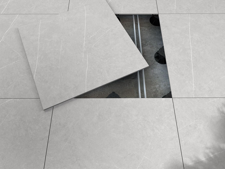 20 mm, le grès porcelanique extérieur de Livingceramics